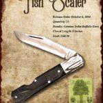 Tuna Valley Cutlery Gallery - 2014 Fish Scaler - Buffalo Horn