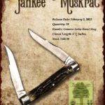 Tuna Valley Cutlery Gallery - 2015 Yankee Muskrat - Burnt Stag