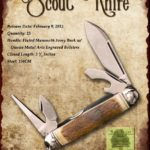 Tuna Valley Cutlery Gallery - 2015 Scout - Mammoth Ivory