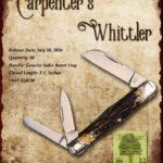 Tuna Valley Cutlery Gallery - 2016 Carpenter's Whittler - Burnt Stag