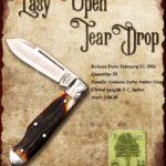 Tuna Valley Cutlery Gallery - 2016 Teardrop - Amber Stag