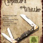 Tuna Valley Cutlery Gallery - 2018 Carpenter's Whittler - Buckeye Burl