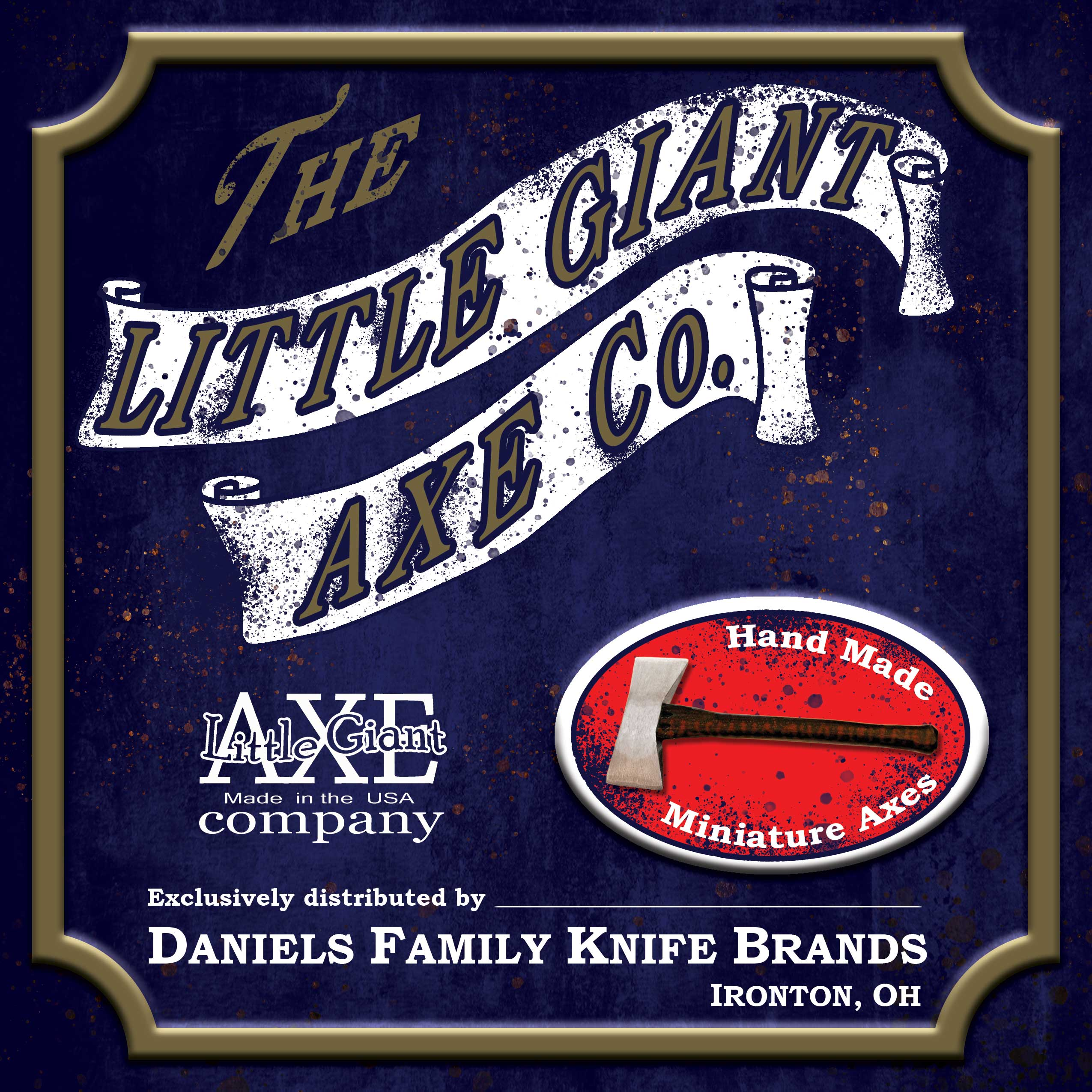 Little Giant Axe Co. logo ad