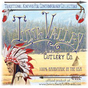 Tuna Valley tube label