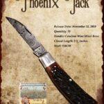 Tuna Valley Gallery - 2020 Phoenix Jack in Catalina Bone with Damascus
