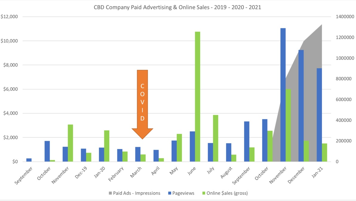 Cannabis Digital Advertising Consultant 2021