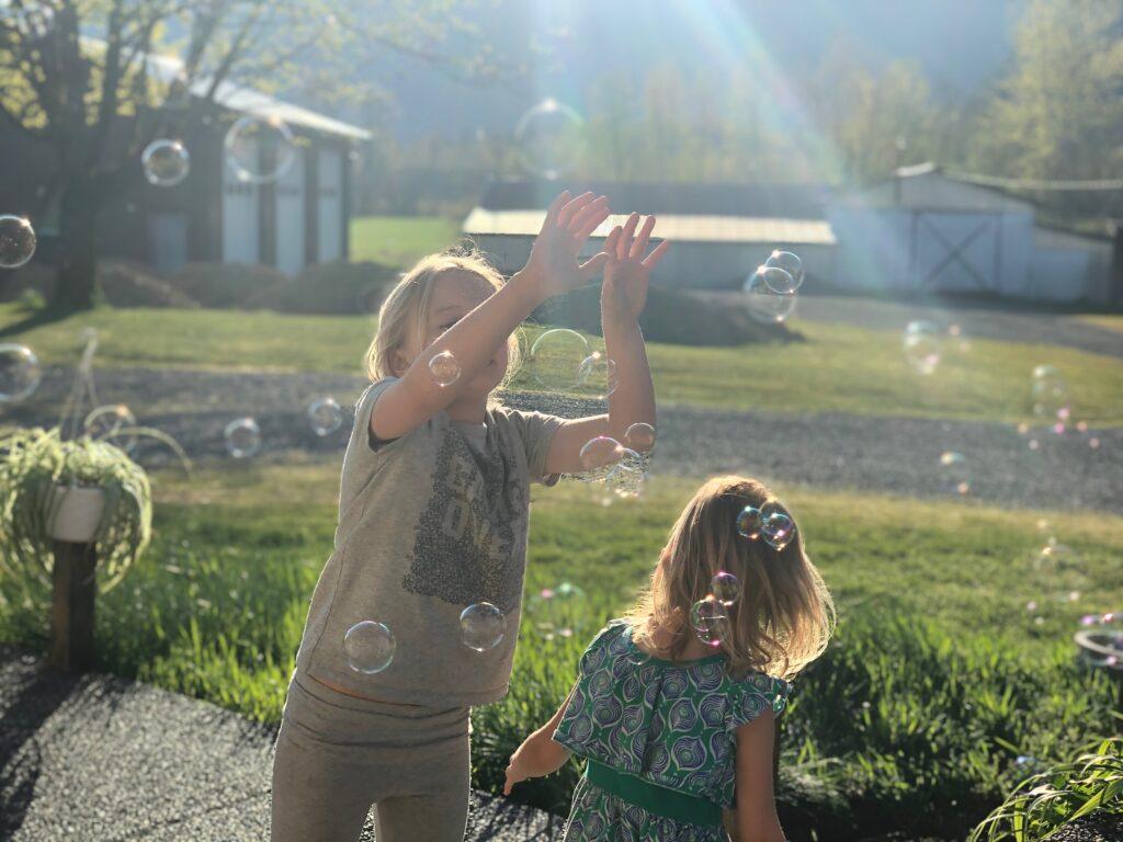 Bubbles, farm