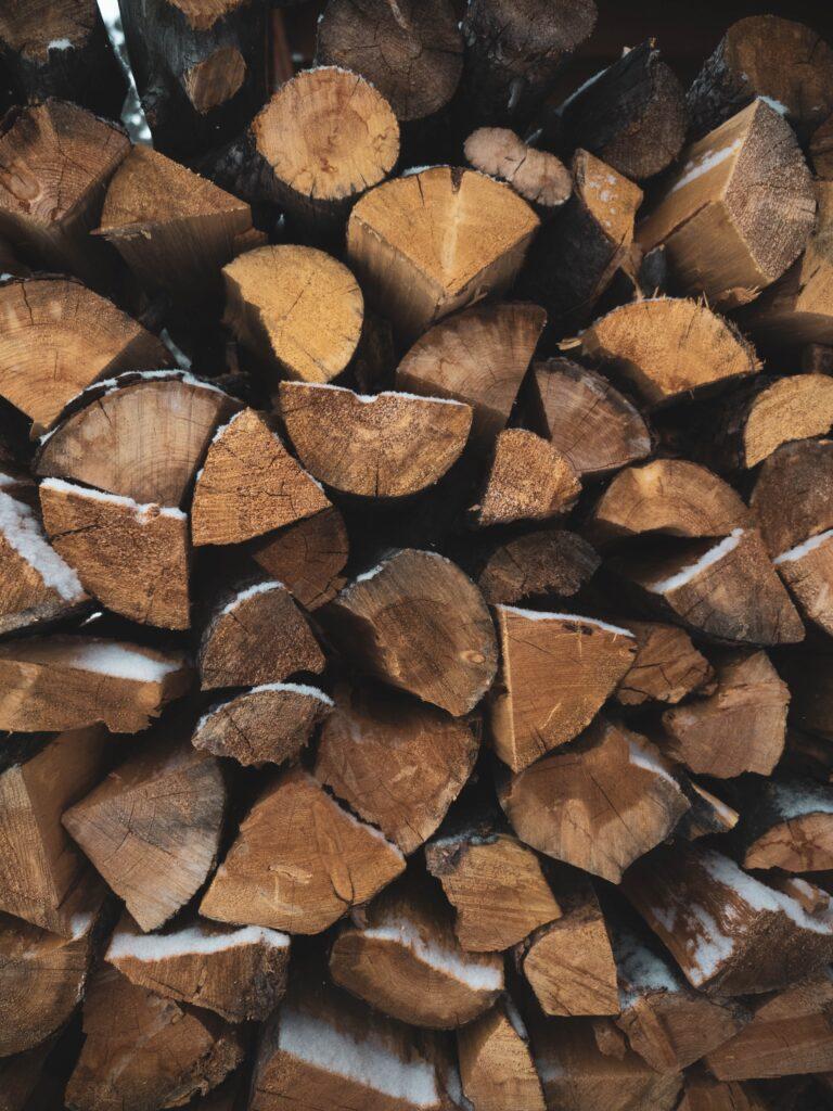Firewood, wood, chop