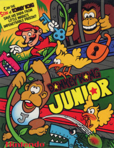 donkey kong jr game graphic