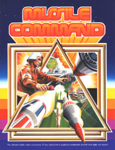 missile command game graphic