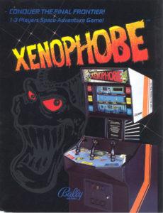 xenophobe game graphic