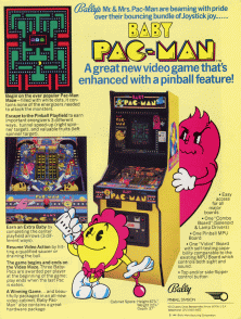 baby pac man game graphic