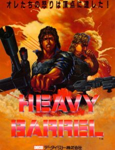 HEAVY-BARREL game graphic