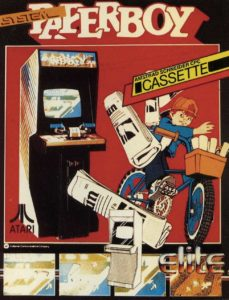 PAPERBOY-ARCADE-FLYER game graphic