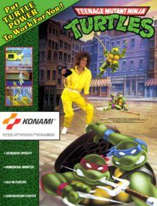 TMNT-arcade-flyer game graphic