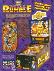 WWF Royal Rumble pinball