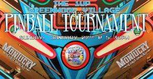 1up Greenwood Monthly Pinball Tournament