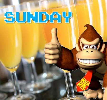 Sunday Mimosa special