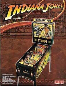 Indiana Jones Stern pinball