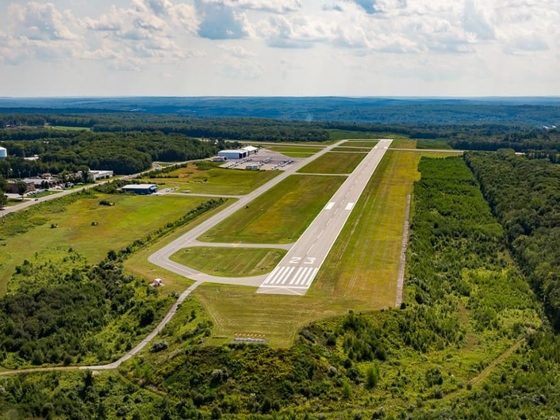 North Central Airport from above