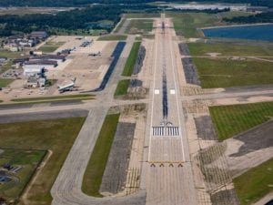 OQU Runway From Above