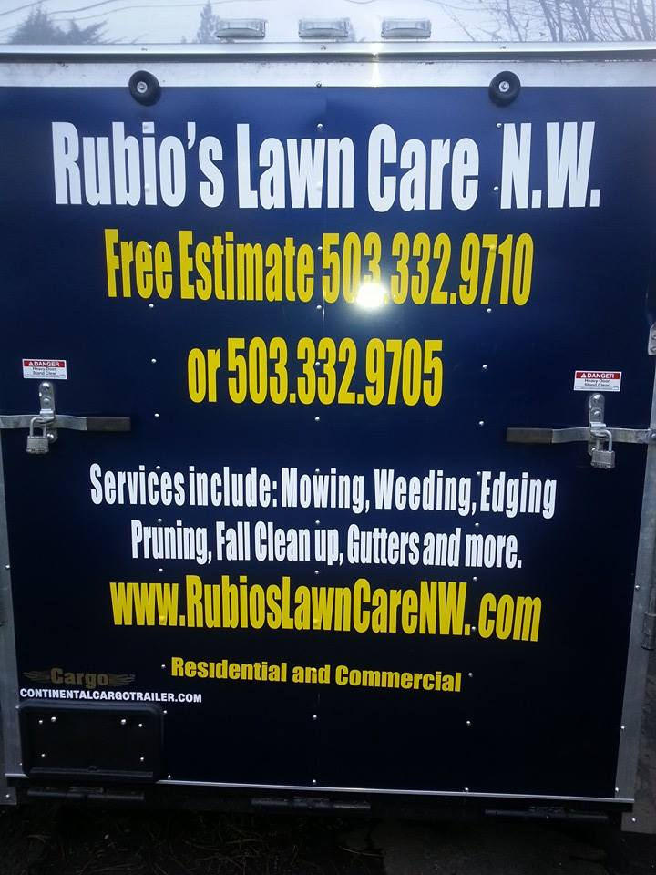 Rubio's Lawn Care NW LLC.