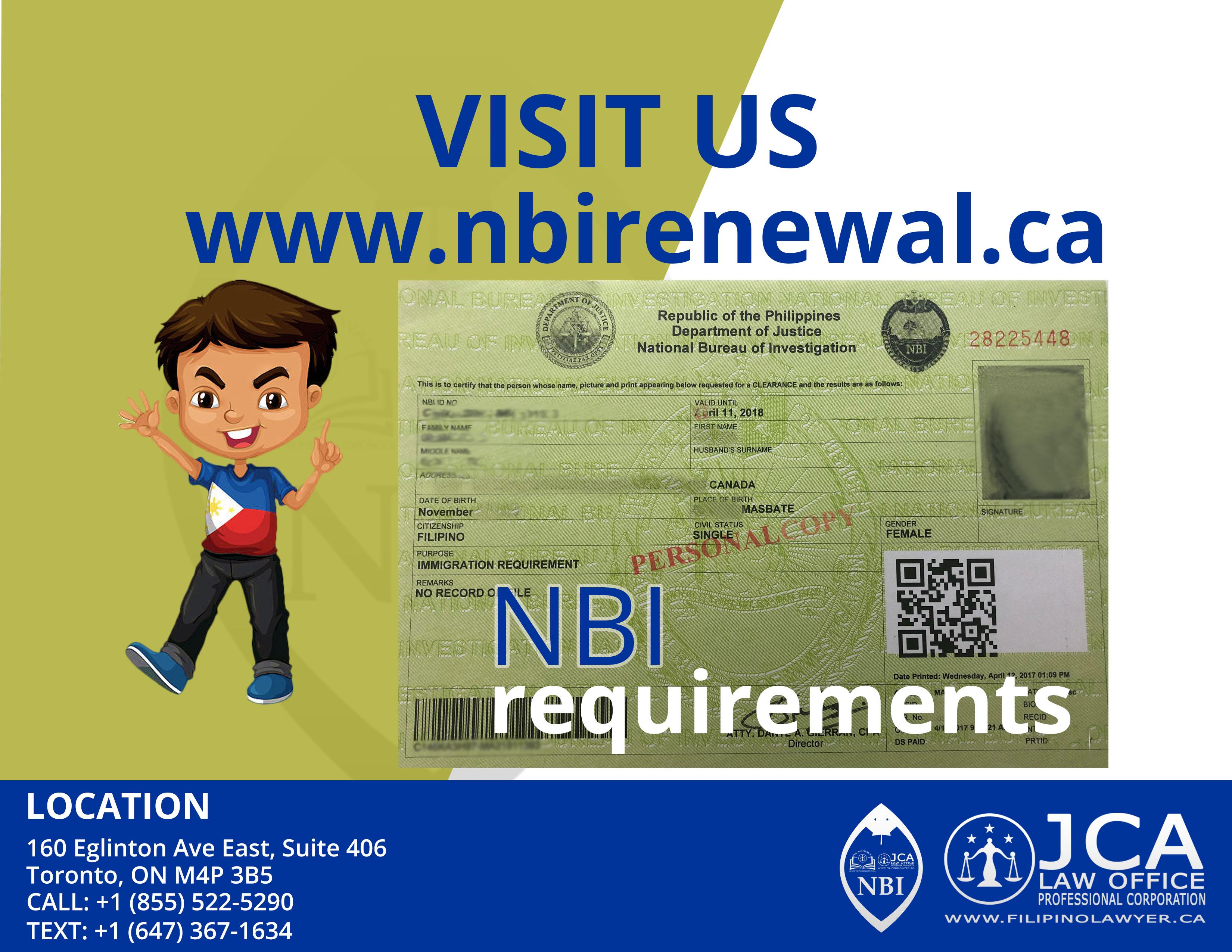 Visit NBI Renewal
