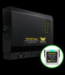Eagle Eye Vigilant battery monitory system