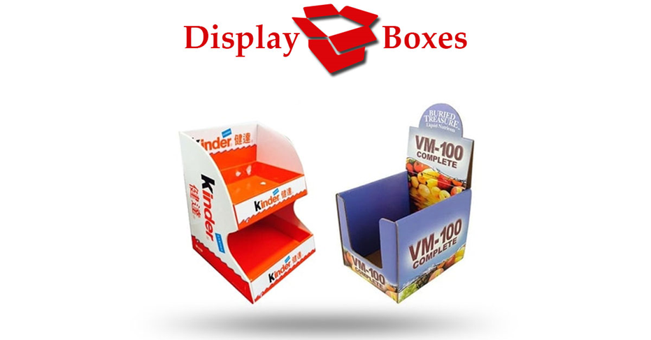 Six Reasons to Start Using Custom Display Boxes For Your Products Range