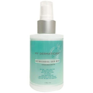Antimicrobial spray for face and body