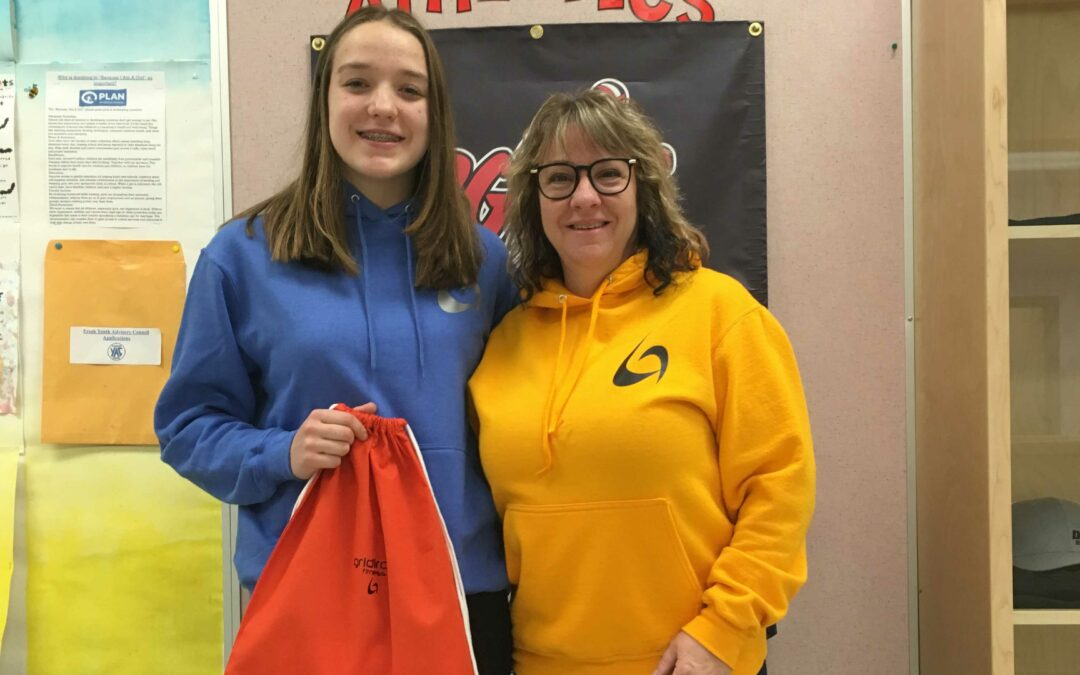 Penguin of the Month – Hannah McDonald – Jr. Girls Volleyball