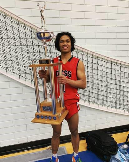 ATHLETE OF THE MONTH – JETHRO CARDINES – BASKETBALL