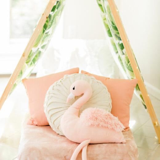 Flamingle Pillow