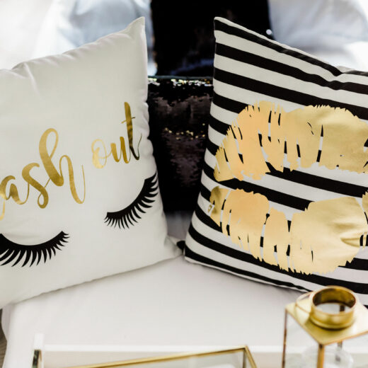 Glam Squad Pillows