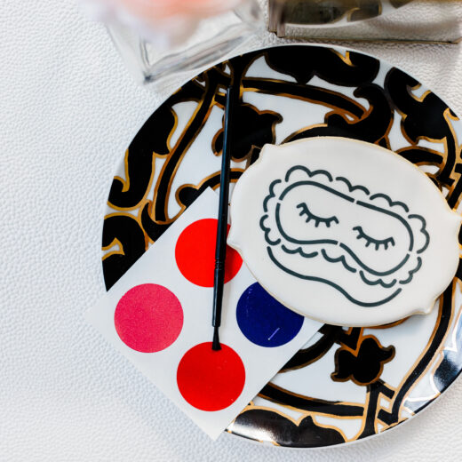 Paint Your Own Cookie Mask