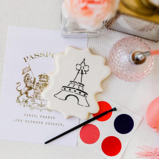 Paint Your Own Cookie Paris
