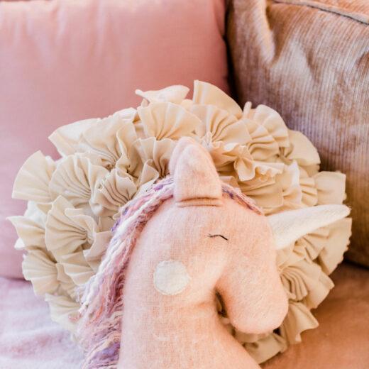 Unicorn Pillow sm