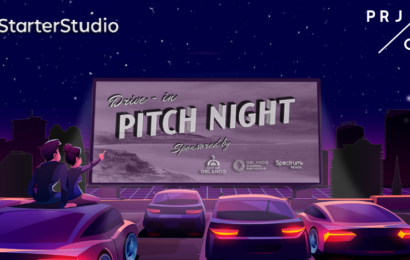 The seven startups pitching at Drive-in Pitch Night on Friday