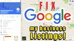 How to fix Google My Business Listing