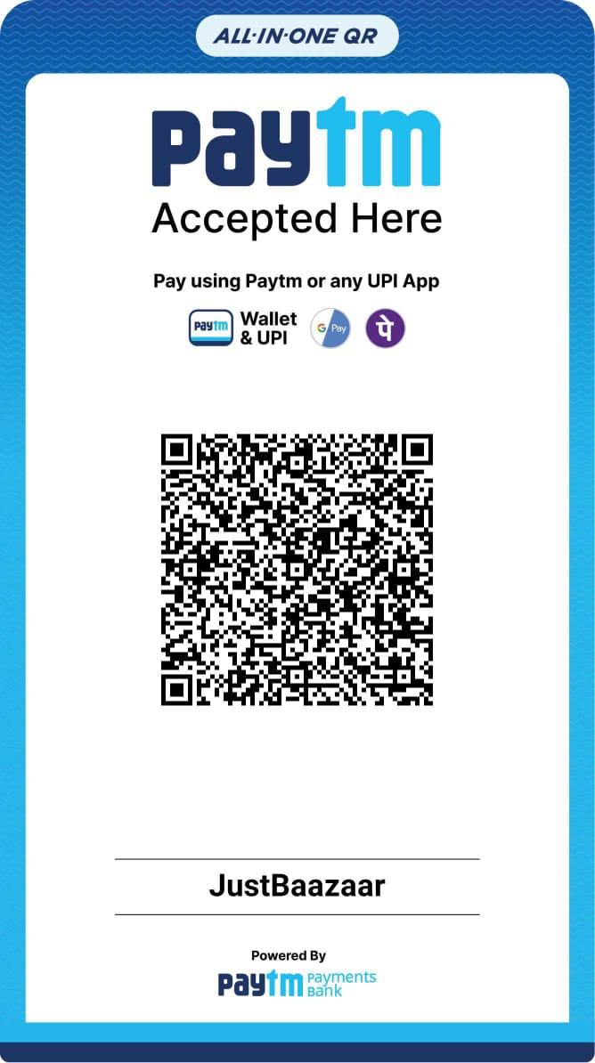 JustBaazaar PayTM QR Code