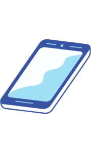 blue sky mobile png image free vector download