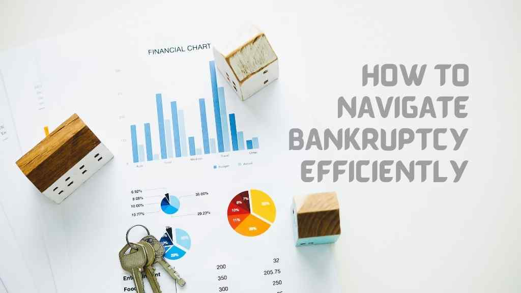 How to navigate bankruptcy efficiently