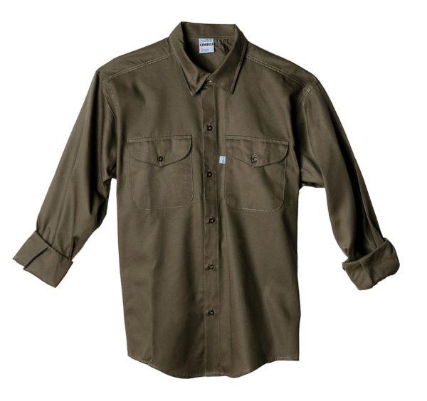 Camisa de trabajo OMBU Verde
