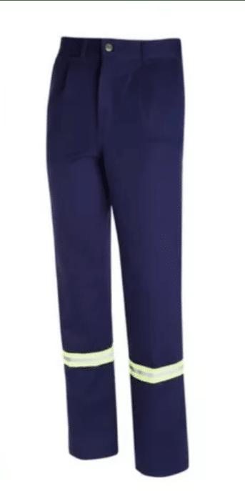Pantalon ombu reflectivos Azul