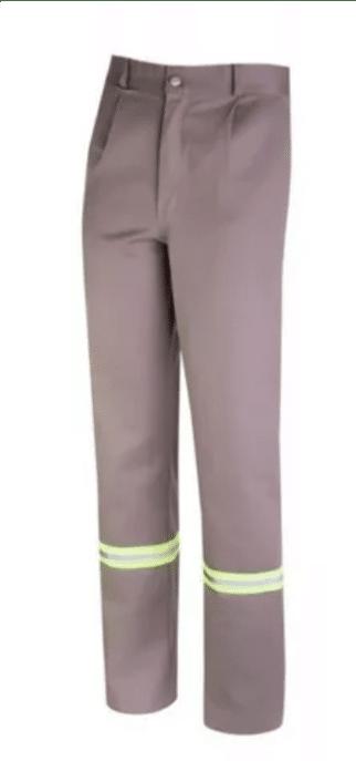 Pantalon ombu reflectivos Beige