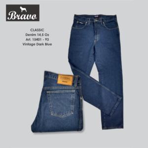 Jean Bravo Classic Vintage Dark Blue