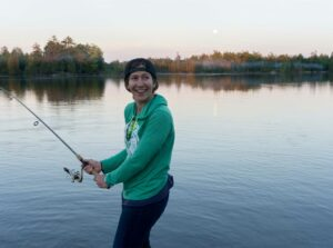 fishing on the Ottawa River