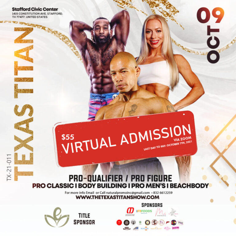 Texas Titan Show Virtual Admission