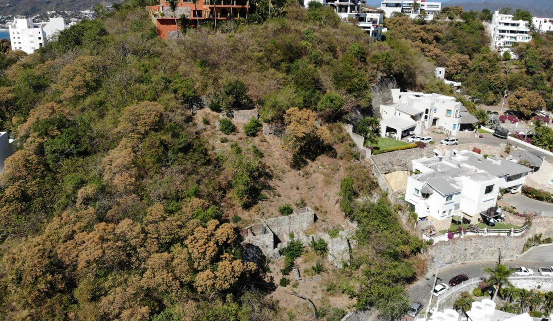 Foto dron lote vista hermosa manzanillo3