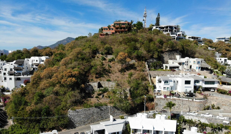 Foto dron lote vista hermosa manzanillo4